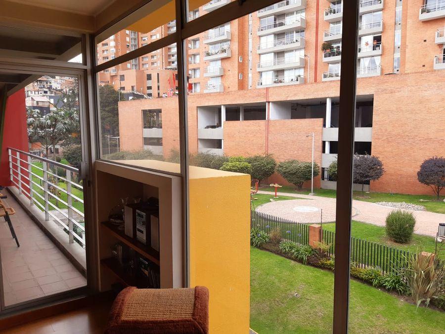 apartamento exterior iluminado en chapinero alto