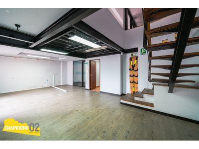 Oficina Venta :: 160 + 25 m² :: Chicó :: $790 M
