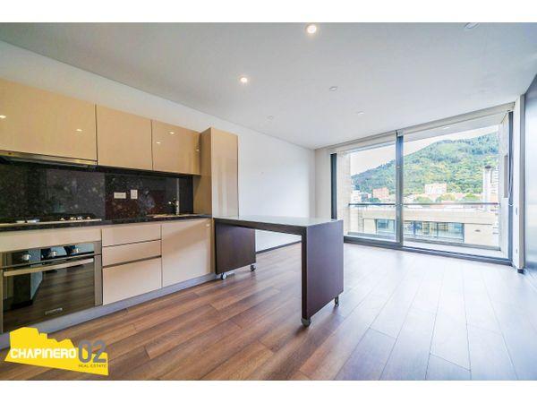 Apartaestudio Venta :: 57 m² :: Chicó Norte 2 :: $650 M