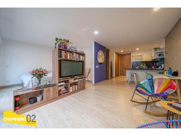 Apartaestudio Venta :: 52 m² :: Chapinero Alto :: $440 M