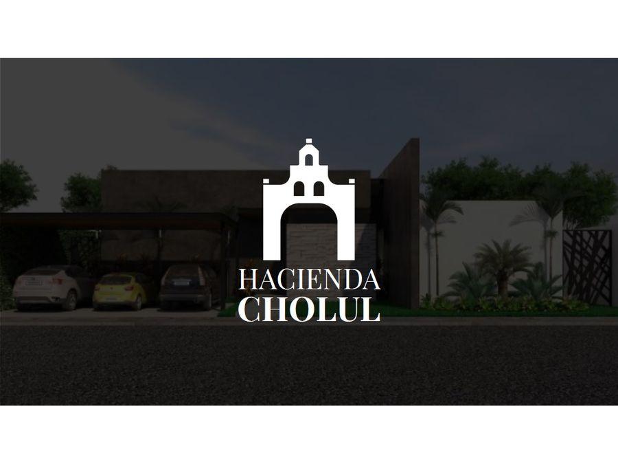 hacienda cholul
