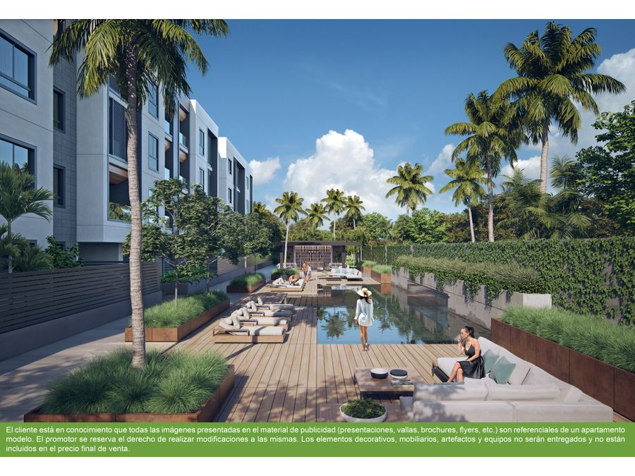 apartamentos en punta cana green one two