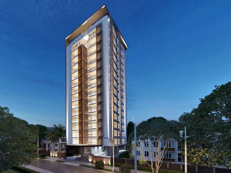 apartamentos en torre en bella vista