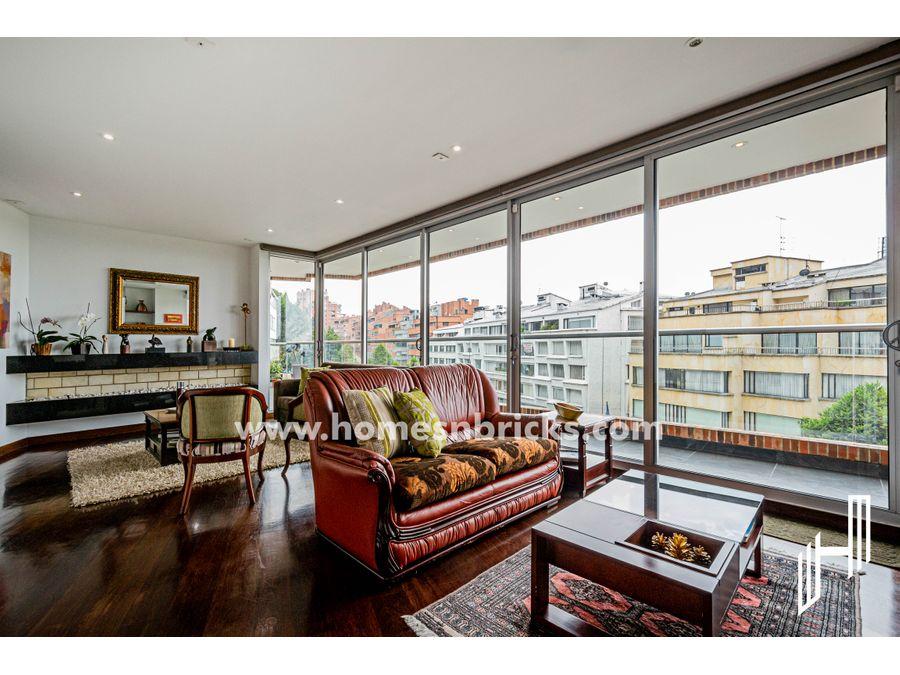 apartamento con terraza para venta en chico oriental