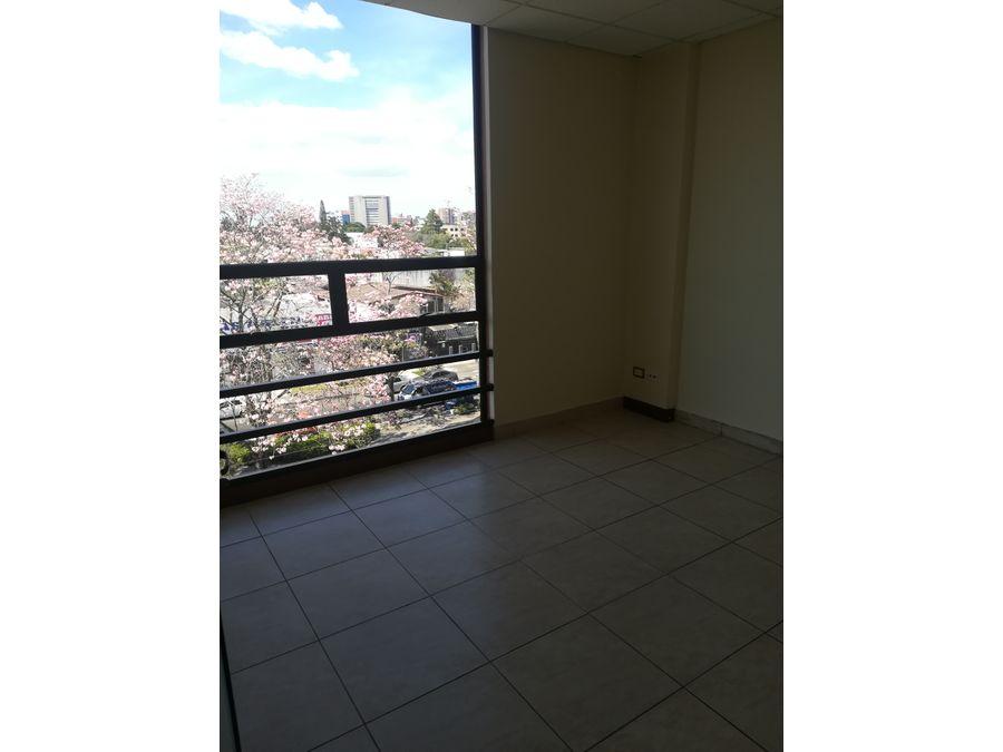 alquiler de oficina en zona 13 edificio condes
