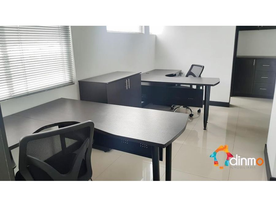 oficina amoblada 75 m2 esquinera 4 ambientes