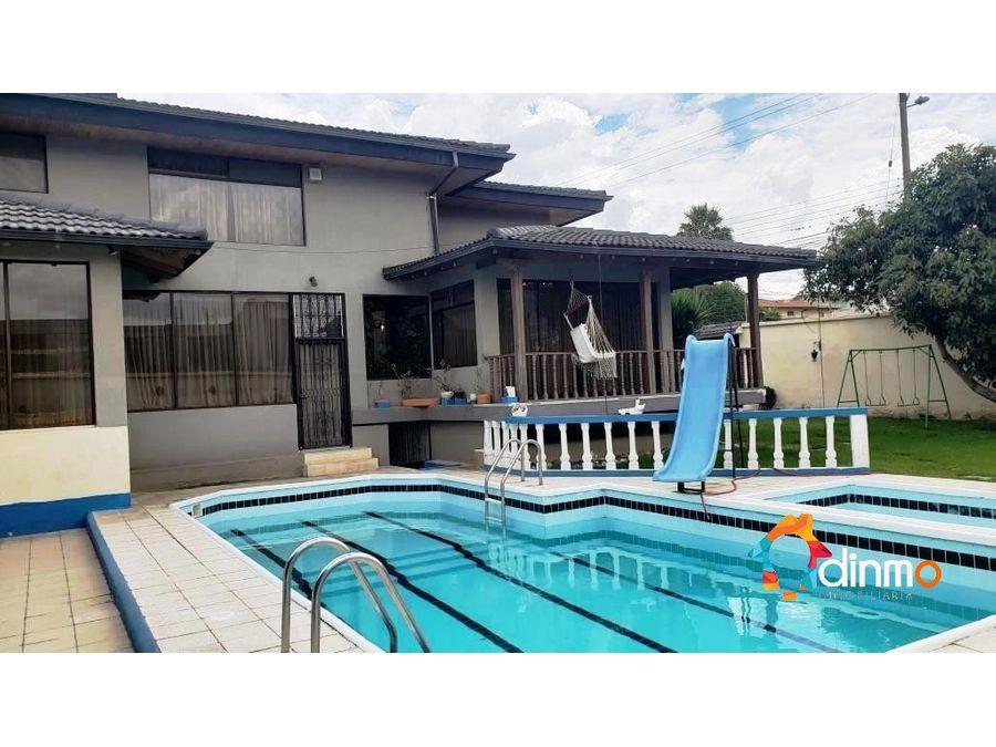 casa en venta la primavera piscina