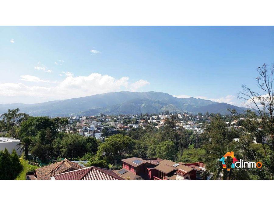 terreno 4000 m2 cumbaya vendo proyecto inmo