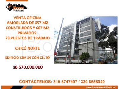*VENTA 657 M2 OFICINAS EN CHICO NORTE