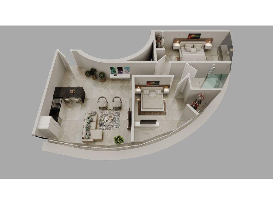 apartamentos en plano de venta en punta cana