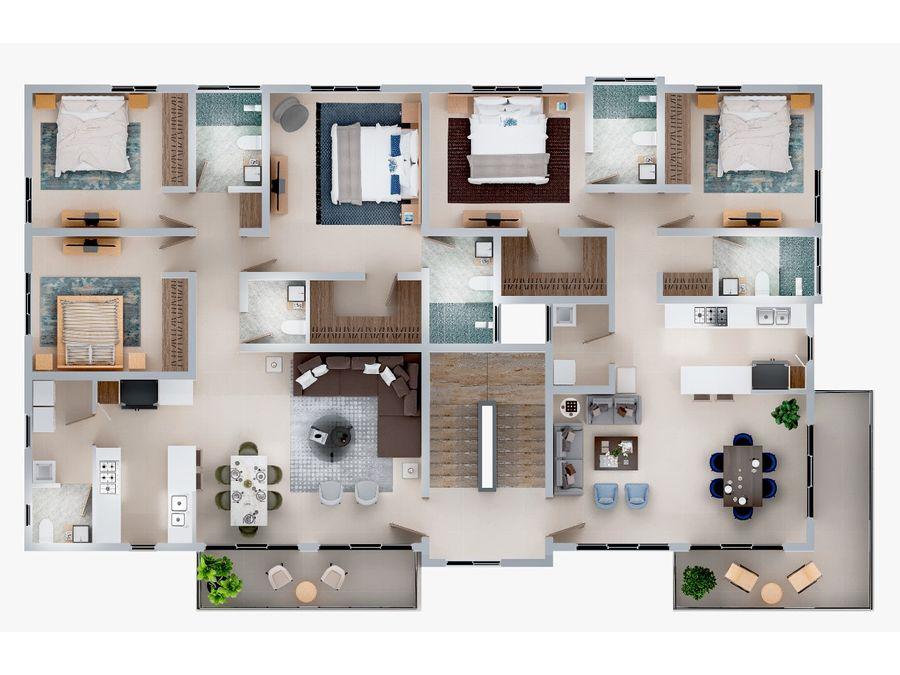 apartamento en venta en el dorado
