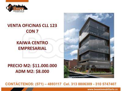 **VENTA OFICINAS CLL 123 CON 7