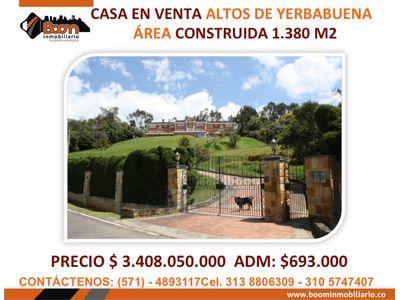 **VENTA CASA ALTOS DE YERBABUENA OPORTUNIDAD!!