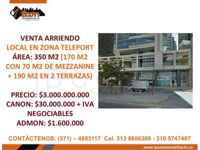 *VENTA ARRIENDO LOCAL SANTA BARBARA 350 M2