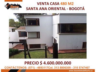 **VENTA CASA SANTA ANA ORIENTAL 489 M2