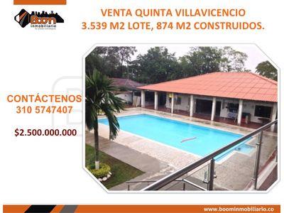 *VENTA QUINTA VILLAVICENCIO 3.539 M2