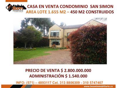 **VENTA CASA SAN SIMON 450 M2