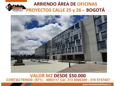 *ARRIENDO OFICINAS CLL 26 Y 25