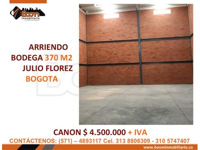 **ARRIENDO OFICINA LOCAL 450 M2 CHICO OPC AMOBLADO