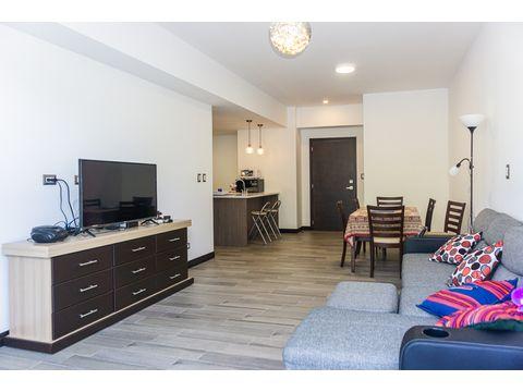 bonito apartamento con jardin en isidro 2021