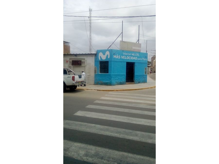 vendo local en avenida loreto piura