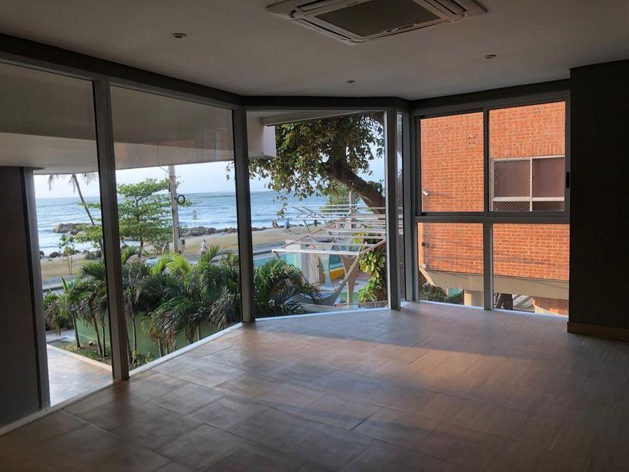 apartamento en venta frente al mar en bocagrande