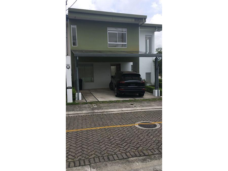 venta de casa en condominio granadilla