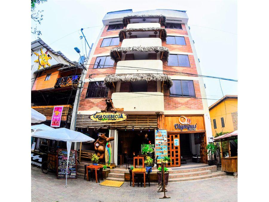 venta de hotel en montanita ruta spondylus