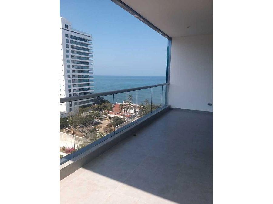 apartamento en venta playa salguero frente al mar