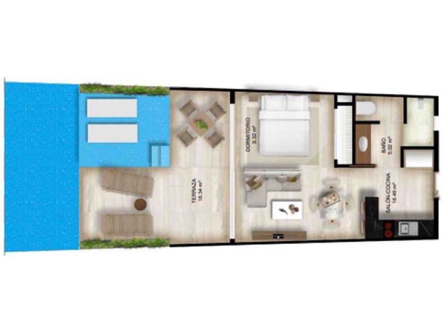 apartamentos vanguardistas en cana rock punta cana