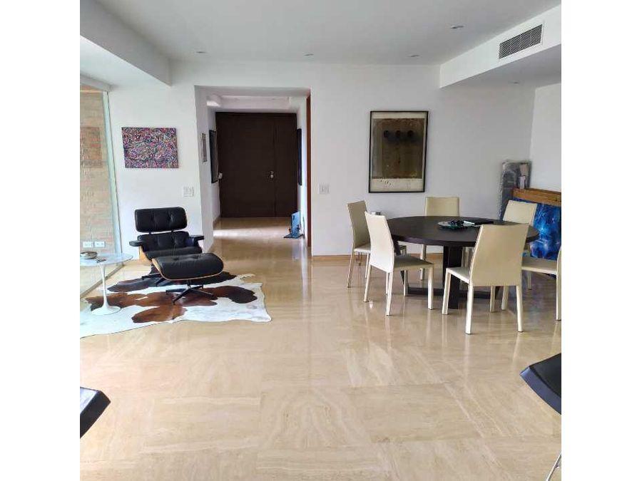 exclusivo apartamento en alquiler campo alegre
