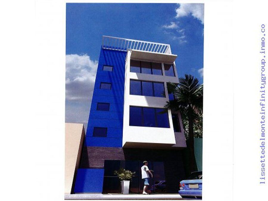 edificio de apartamento y comercial