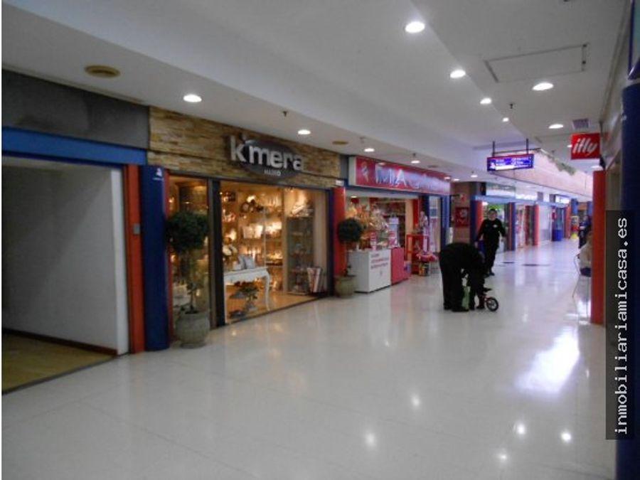 ocasion en centro comercial