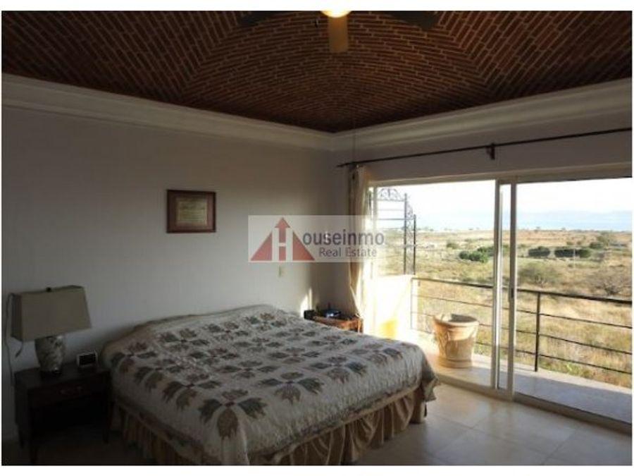 casa en venta vista al lago de chapala