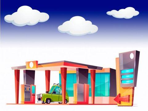 estacion de gasolina rentable en via turistica