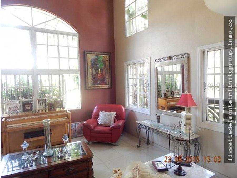 hermosa casa en alma rosa rd15500000