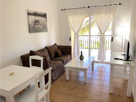 bonito apartamento amueblado en cocotal