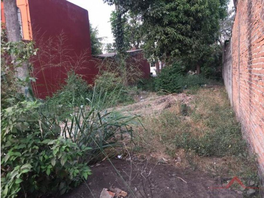 terreno col morelos calle benito juarez