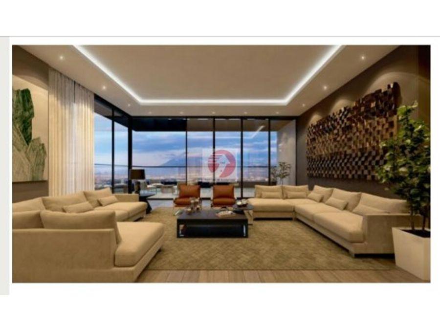 venta de apartamento en zona 14 de lujo