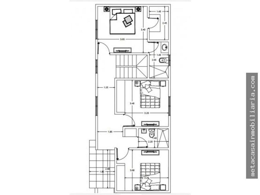 atractiva casa de 2 niveles 175mts brisa oriental