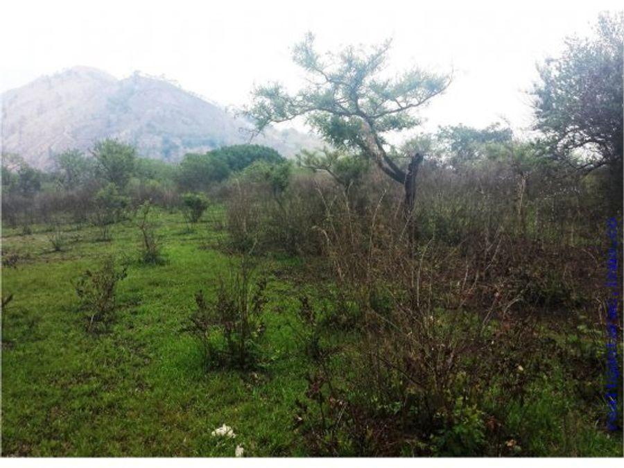 terreno en jutiapa