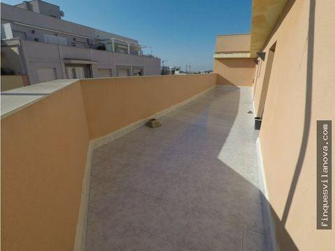atico con magnifica terraza
