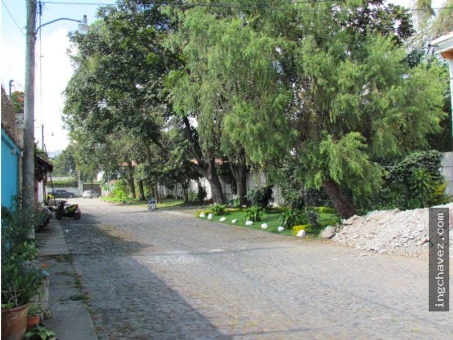 vento terrenos en antigua guatemala