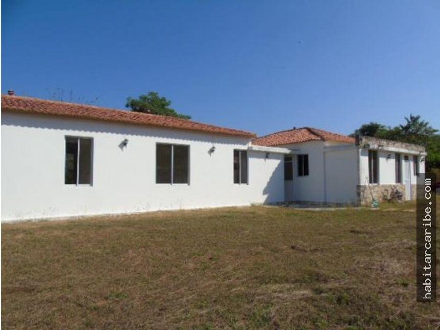 casa campestre en venta en turbaco en la hacienda