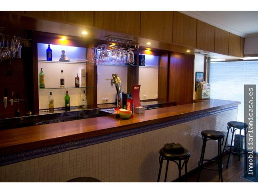 bar equipado en venta