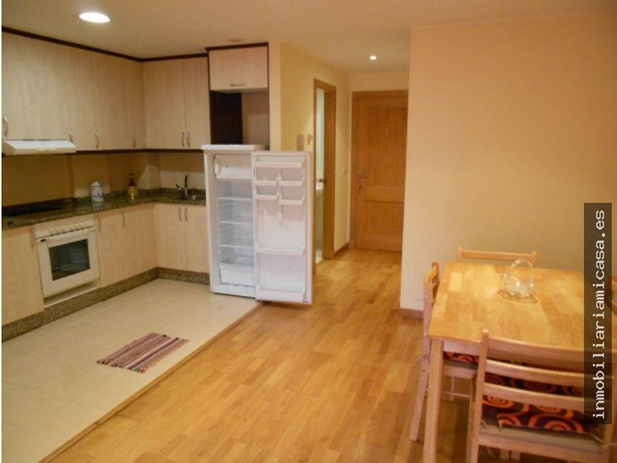 apartamento amueblado con garaje