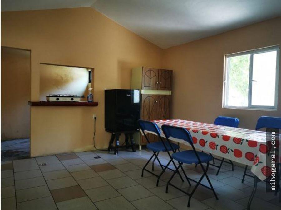 casa sola con alberca en morelos en venta