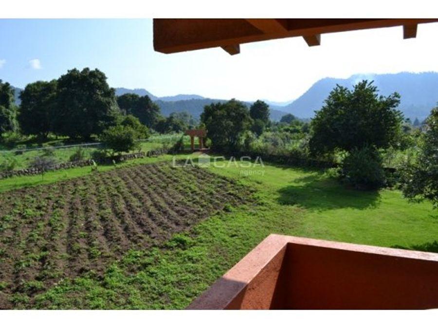 rancho en pipioltepec con 35822m2 de terreno