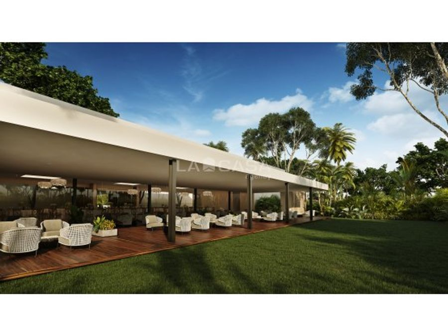 exclusiva privada residencial con club de golf