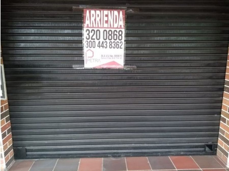 vendo local en guayabal
